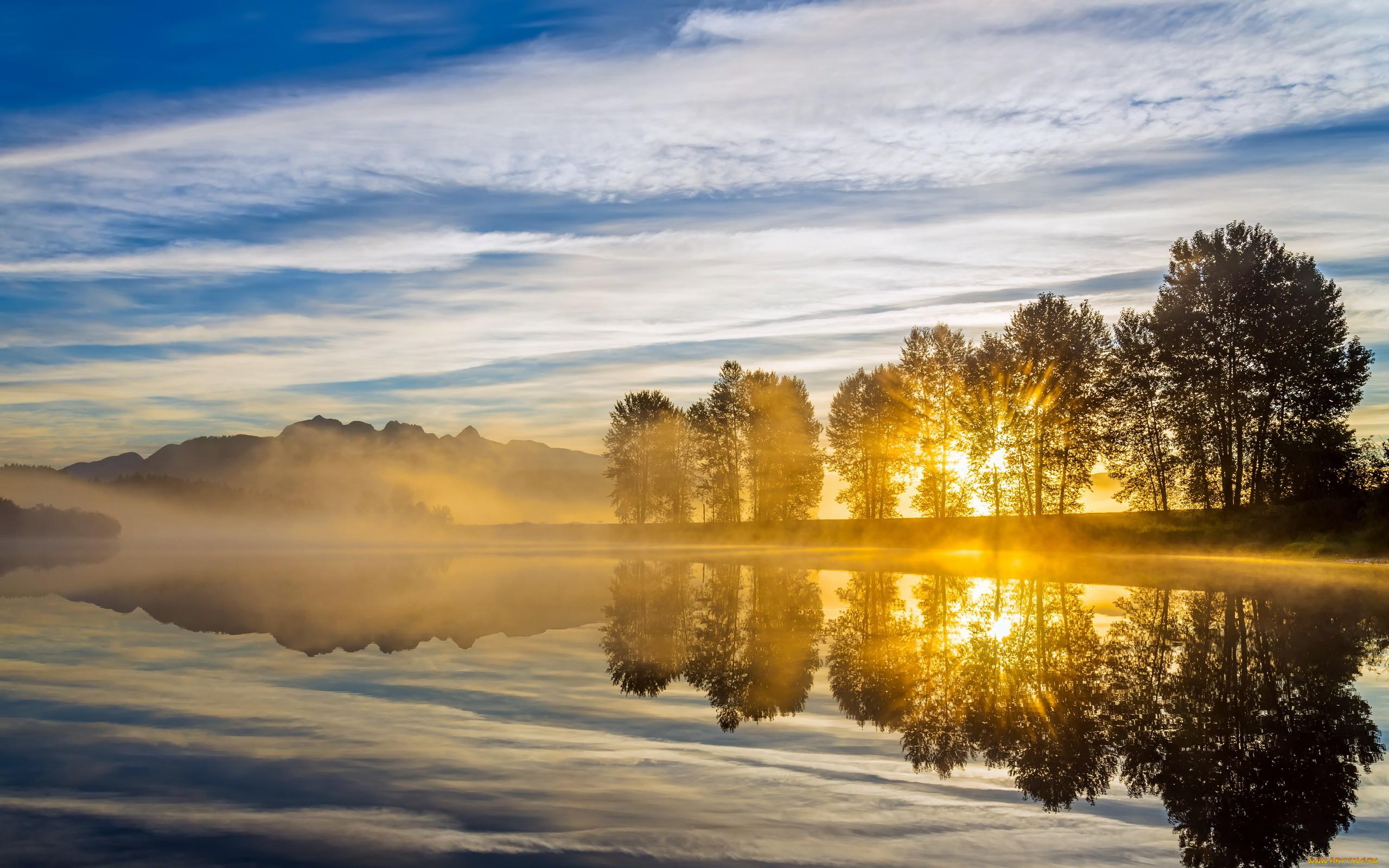эти фото красивых утренних пейзажей уже очень